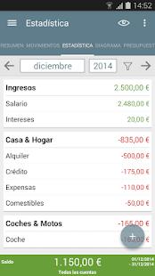 Mi presupuesto - screenshot thumbnail