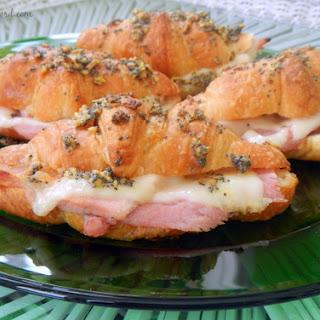 Deluxe Ham & Cheese Sandwiches.