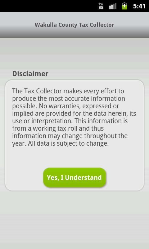 Wakulla Tax Collector - screenshot