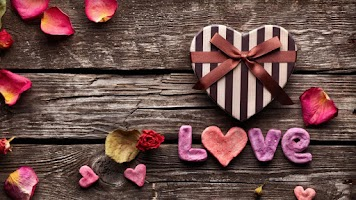 Screenshot of Love Hearts Live Wallpaper