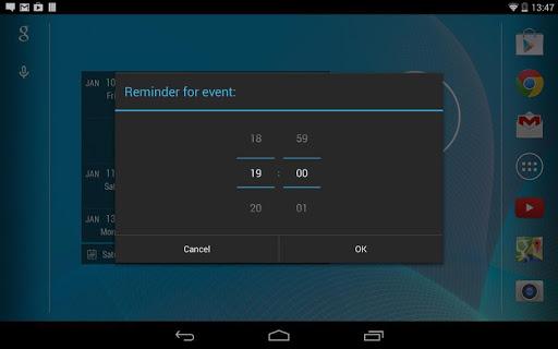 【免費生產應用App】Calendar Widget KEY-APP點子