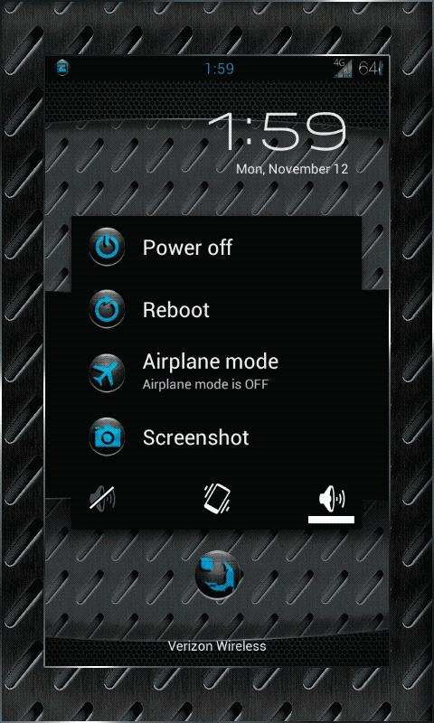 MACHINE Theme Chooser AOKP CM - screenshot