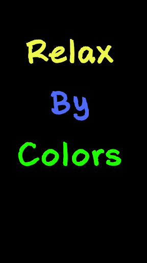 Relax By Colors