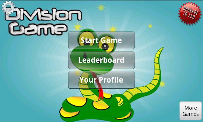 Division Game - screenshot
