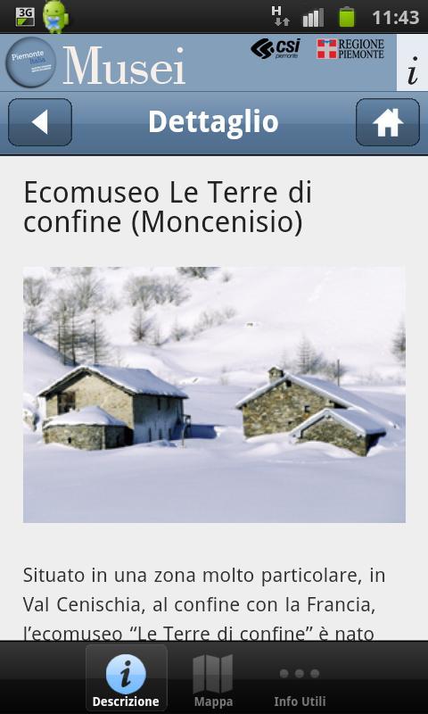Musei Piemonteitalia- screenshot