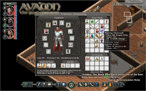 Demo Avadon The Black Fortress - screenshot thumbnail