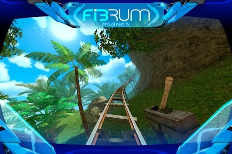 Roller Coaster VR attraction: miniatura de captura de pantalla