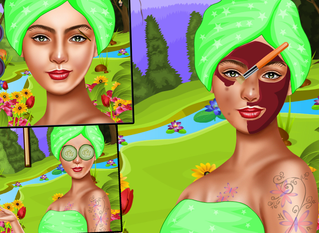 Kids spa makeover - Fairy - screenshot