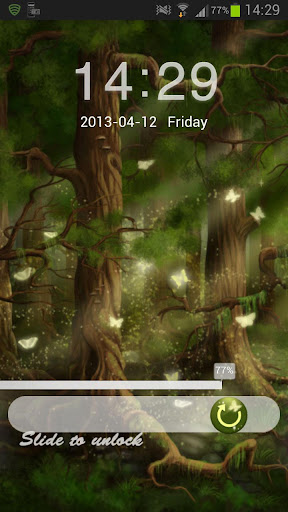 【免費個人化App】GO Locker Theme Forest Buy-APP點子
