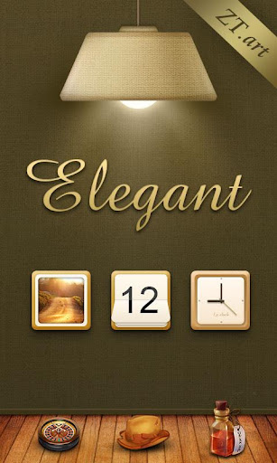 Elegant GO LauncherTheme