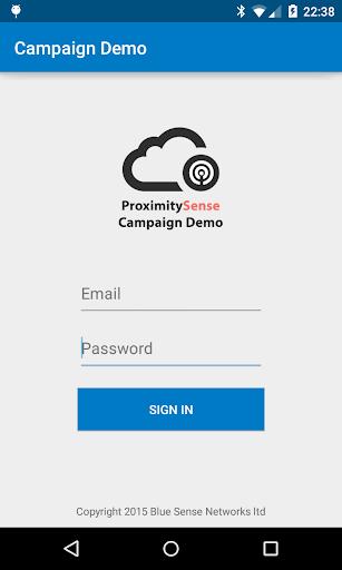 ProximitySense Campaign Demo