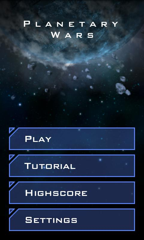 Planetary Wars - screenshot