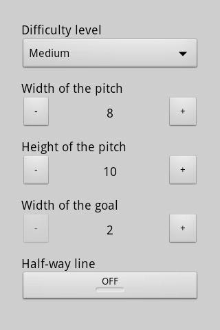 Paper Soccer- screenshot