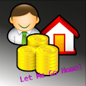 LetMeGoHome Lite: a work clock logo