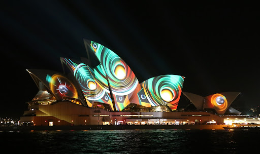 Sydney Opera House during the Vivid Sydney festival* (4)