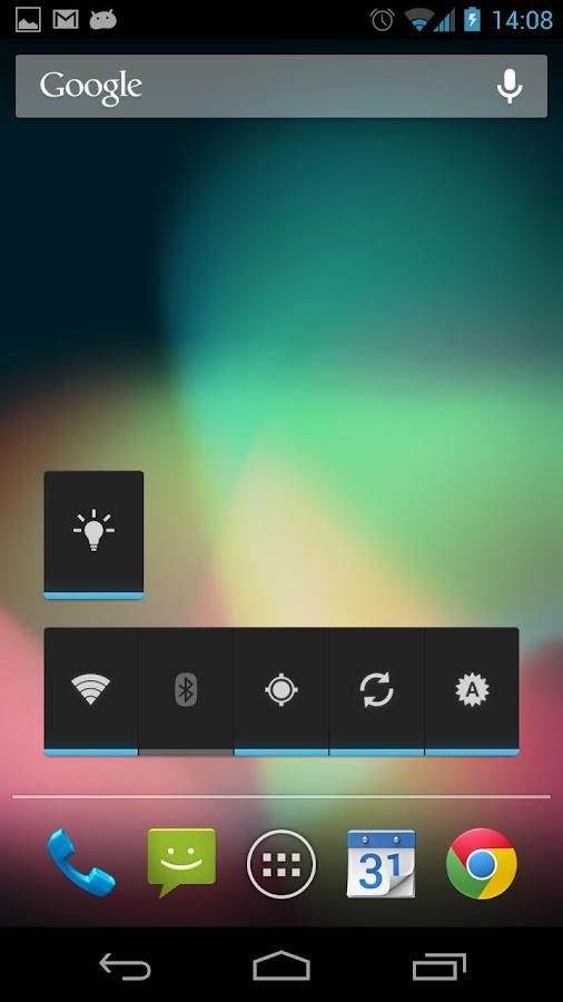 Simple LED Widget - screenshot