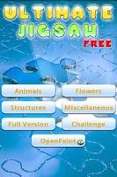 Screenshot of Ultimate Jigsaw Puzzle Free