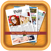 News Paper Photo Frames
