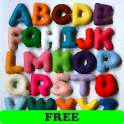 Alphabet, numbers and colors F icon