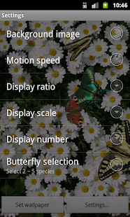 Butterfly Live Wallpaper- screenshot thumbnail
