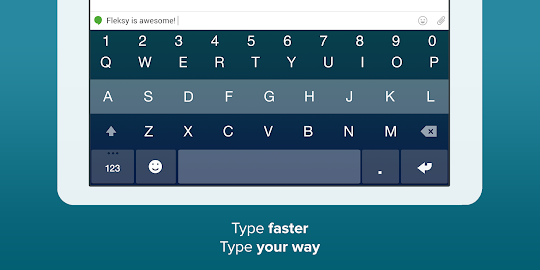 Fleksy Keyboard Screenshot 2