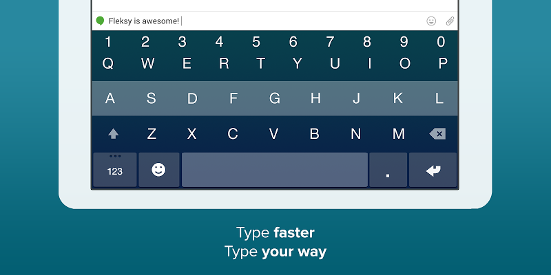 Fleksy- Emoji & gif keyboard app Screenshot 6