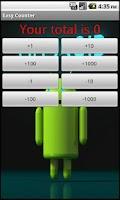 Screenshot of Easy counter