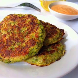 Broccoli Tuna Fritters