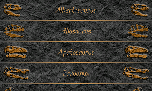 Dinosaurs screenshot