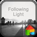 Following dodol launcher theme icon