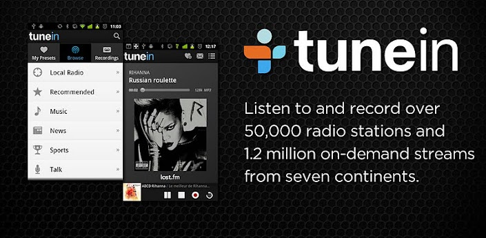 TuneIn Radio Pro v5.3a