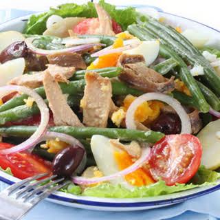 Fresh Tuna Nicoise Salad.