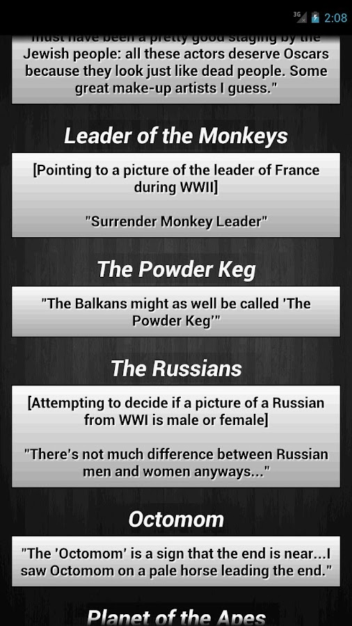 description funny european history quotes from an ap european history ...