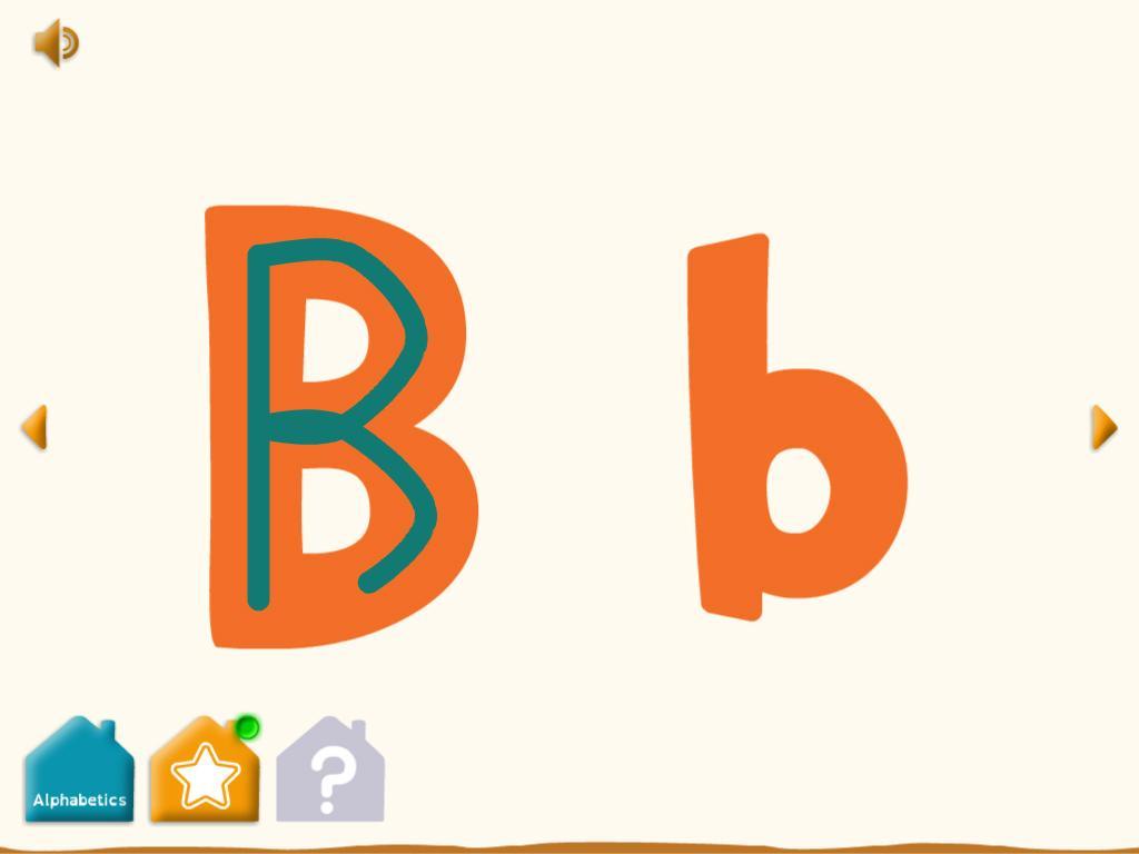 Alphabetics- screenshot