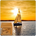 Sailing Sunset Sailboat LWP icon
