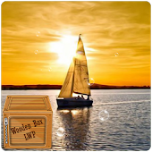 Sailing Sunset Sailboat LWP