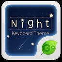 Go Keyboard Night Theme mobile app icon