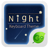 Go Keyboard Night Theme