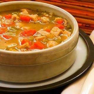 Turkey Barley Soup.
