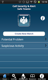SafeWatch TEAM®- screenshot thumbnail