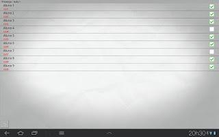 Screenshot of Controle Presencial FREE