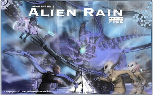 Alien Rain- screenshot thumbnail