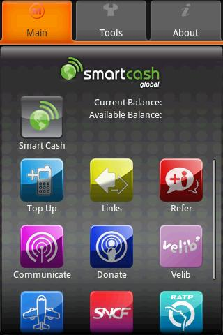 Smart Cash Demo - screenshot