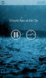 RAIN SOUND - Sound Therapy - screenshot thumbnail