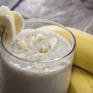 Peach-Ginger Banana Smoothie