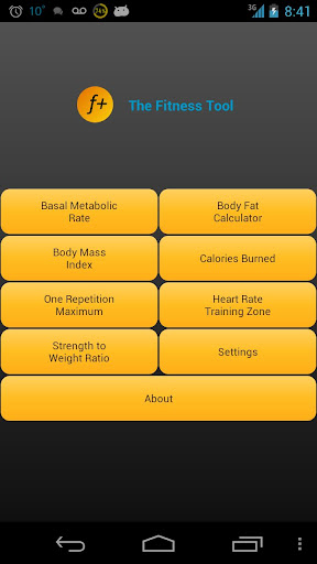 The Fitness Tool