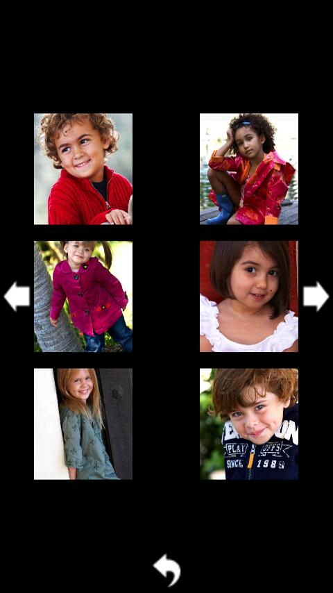Child Photography Poses - screenshot