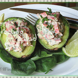 Seafood Salad Avocado Recipes.