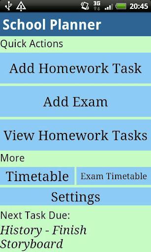 School Planner