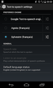 Sylvestre voice (French) - screenshot thumbnail